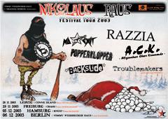 NIKOLAUS RAUS TOUR 2003