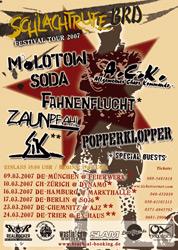 SCHLACHTRUFE BRD TOUR 2007