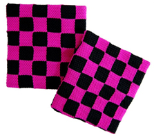 CHECKERBOARD PINK & BLACK