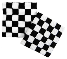 CHECKERBOARD BLACK & WHITE