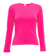 LADIES LONGSLEEVESHIRT CREW NECK