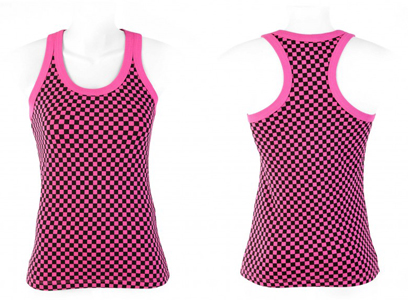 CHECKERBOARD TANK TOP