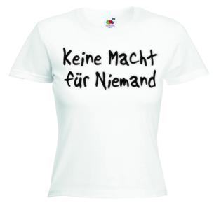 KEINE MACHT FÜR NIEMAND