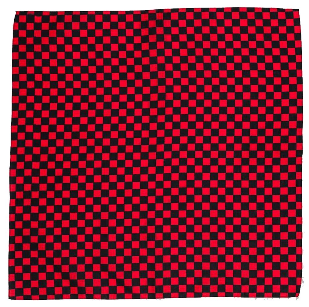 CHECKERBOARD BANDANA