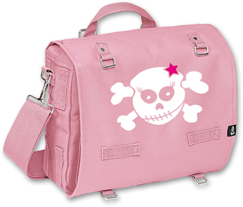 RACKY SKULL WITH PINK STAR