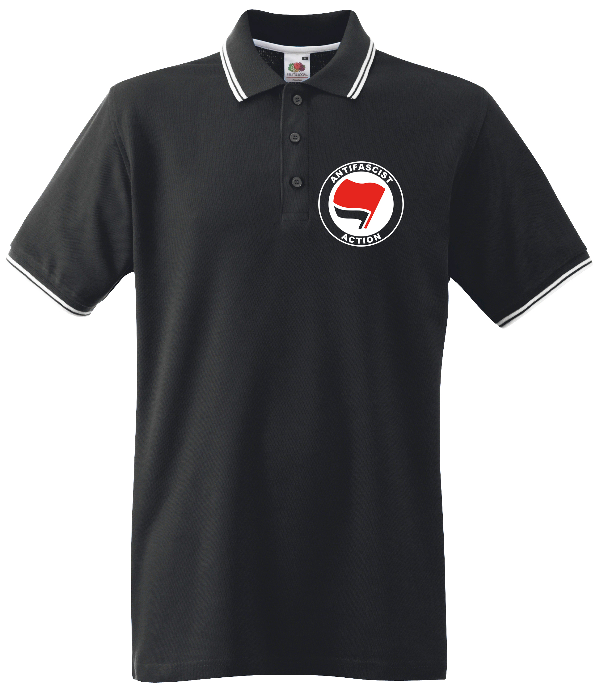 ANTIFASCIST ACTION POLOSHIRT